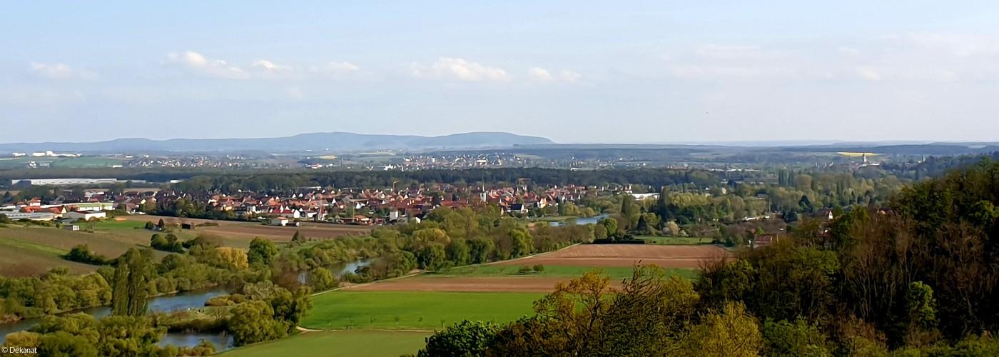 Blick auf den Schwanberg